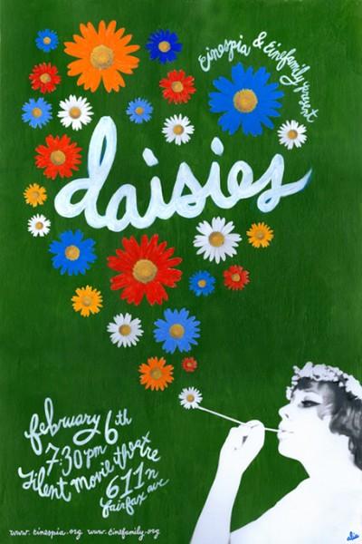 Sedmikrasky+(1966)+poster+5+by+Alia+Penner