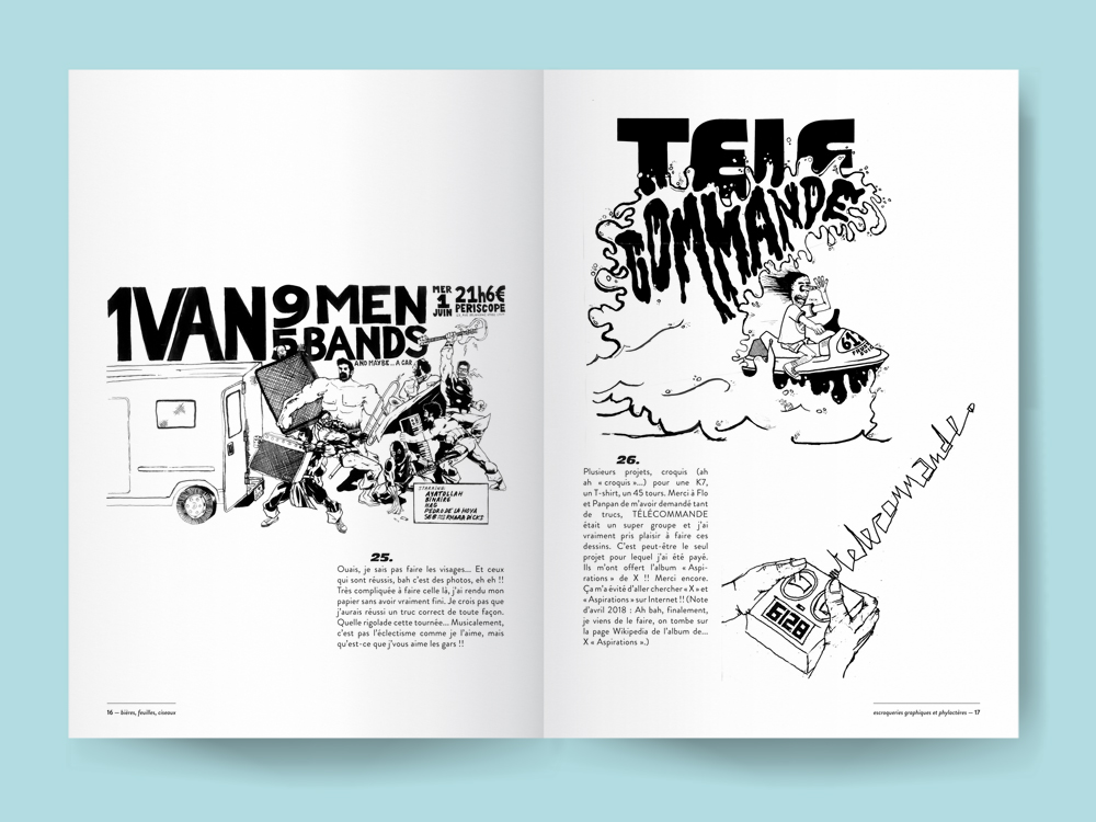 Blank book or magazine template mockup vector